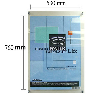 Poster board dimensions standard